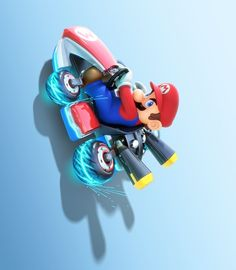 More than just a visual upgrade, Nintendo has decided to flip the series, literally, with anti-gravity races that take players on the walls and ceiling of each track.