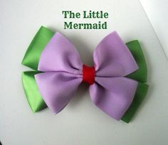 The Little Mermaid Ariel Bow by littlebowchicdesigns on Etsy, $7.00