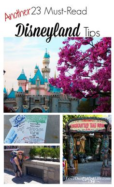 These are awesome tips for any Disneyland Vacation. Not just for first timers. And the article contains links to two other lists of tips type articles.    Disneyland | Disney | Travel | Vacation | Travel Tips | Disney California Adventure | Theme Parks via @thebeccarobins
