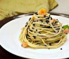 Μακαρόνια με χαβιάρι Healthy Recipes, Healthy Meals, Seafood, Spaghetti, Food Porn, Food And Drink, Pasta, Fish, Ethnic Recipes