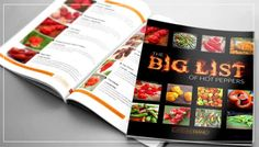 Get The Big List of Hot Peppers EBook
