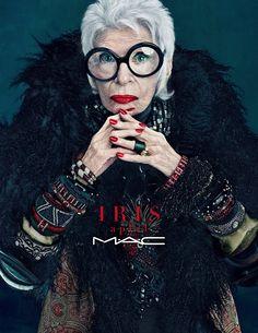 MAC : Iris Apfel
