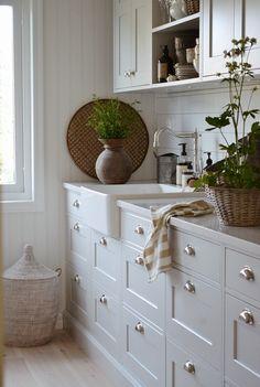 uploaded by cyndi Neptune Kitchen, Interior Decorating, Interior Design, House Inside, Scandinavian Living, Farmhouse Style Kitchen, Home Kitchens, Decoration, Kitchen Remodel