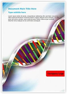 Free genetic science powerpoint template free medical powerpoint helix dna strand ms word template is one of the best ms word templates by toneelgroepblik Images