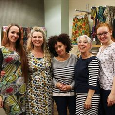 """Our Godalming team at their in store event """"It´s not what you wear¸ It´s how you wear it"""" showcasing """"How to style an outfit to compliment your age¸ height and size."""" On 25th September"""