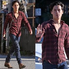 Cole in Vancouver a few days ago #colesprouse