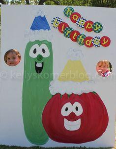 Veggie Tales birthday @Kacie Jenkins Krueger