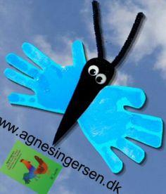 Håndsommerfugle | Agnes´ kreative univers