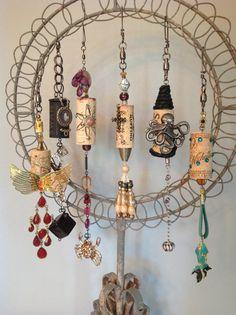 Wine Cork Ornaments by HeathersLouWho