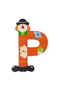 Sevi Alphabet (Clown) – Page 2 – SuperSmartChoices Decorative Alphabet Letters, Alphabet Fonts, Clowns, Painted Letters, Hand Painted, Mobiles, Best Educational Toys, Peace Art, Letter B