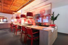 Restaurant Collina project, Switzerland by Emulsion