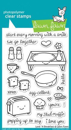love 'n breakfast | Lawn Fawn