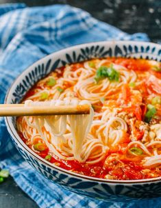 10-Minute Tomato Egg Drop Noodle Soup, Plus a List of Last-Minute-Meal Recipes - The Woks of Life
