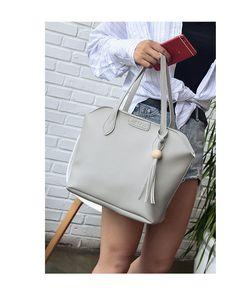 Korean version PUShoulder Bags (brown)NHBH0988-brown