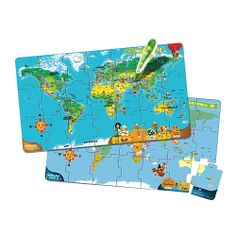 LeapFrog LeapReader Interactive World Map Puzzle (works with Tag) $20 (for 1st kid)