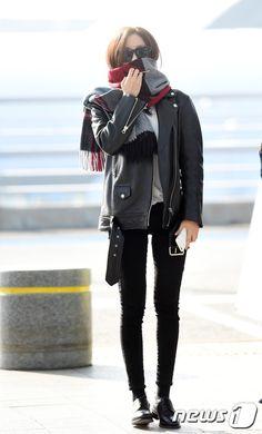 #t-ara, #hyomin, #airport, #fashion