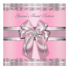 Silver Sexy § :: Silver Invite with Classy Pink