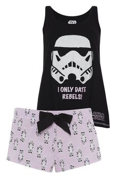 DISNEY STAR WARS Ladies Pyjamas Leggings T Shirt Shorts Primark UK 6-20 | eBay
