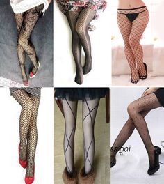 6 Pairs Of Varieties Design New Sexy Stockings Elegant Sexy Women Pantyhose #XingHong #Pantyhose