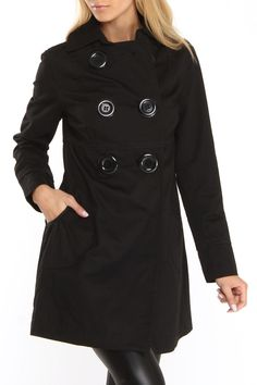 Love this coat, too bad I won't be able to wear it in FL.  Deirdre Trench