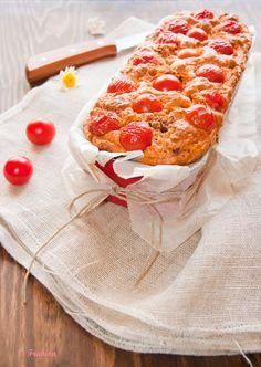 La cocina de Frabisa: Cake de calabacines, chorizo y cherrys