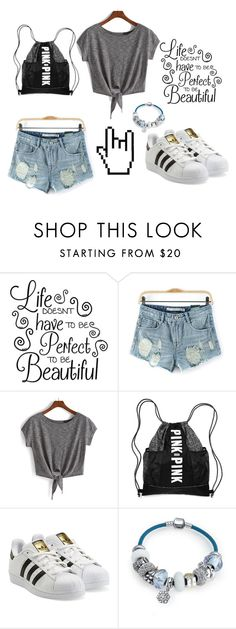 """""""Untitled #46"""" by liel2900 ❤ liked on Polyvore featuring adidas Originals and Bling Jewelry"""