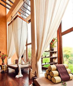 Spa of the Anantara Golden Triangle Elephant Camp and Resort, Chiang Saen, Thailand