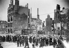 Dublin after Irish Rising 1916.