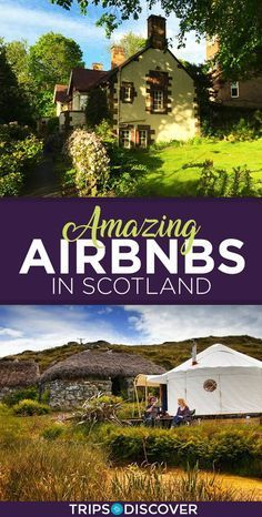 10 Airbnbs in Scotland That Will Have You Planning a European Vacation ASAP 11 Amazing Airbnbs in Scotland Scotland Vacation, Scotland Road Trip, Scotland Travel, Ireland Travel, Visiting Scotland, Scotland Hiking, Glasgow Scotland, Inverness Scotland, Oh The Places You'll Go