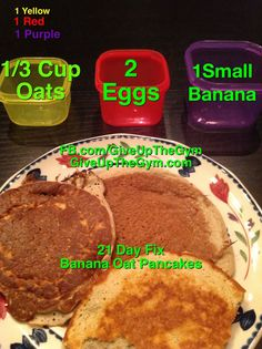 #21DayFix Breakfast