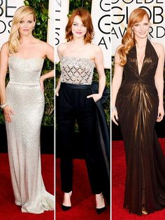 See all the important looks from the 72nd Annual Golden Globe Awards. via @WhoWhatWear