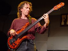 Michael Manring with the Zon Fretless Hyperbass