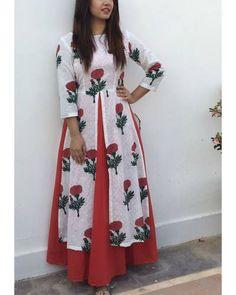 Layered Rose Dress
