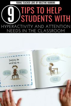 9 Tips to Help Students with ADHD, Hyperactivity, and other Attention Needs in the Classroom - Young Teacher Love 5th Grade Classroom, Middle School Classroom, Autism Classroom, Classroom Resources, Teacher Resources, Classroom Ideas, Elementary Teacher, Elementary Schools, Upper Elementary
