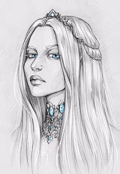 Francesca Findabair by Anastasia Kulakovskaya (Witcher)