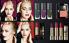 For autumn 2013th Lancôme is the inspiration for the make-up found in the legendary natural Parisian chic.    Lancôme this fall brings luxurious make-up collection with a new view of Paris's most famous symbol of beauty - red lips, artfully shaped