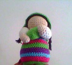 Es mi primer amigurumi!!! con la ayuda de Esperanza Rosas de tejiendo Peru... me encanto!!!!!!!