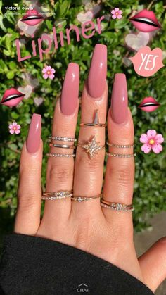 In search for some nail designs and ideas for your nails? Listed here is our listing of must-try coffin acrylic nails for modern women. Summer Acrylic Nails, Best Acrylic Nails, Acrylic Summer Nails Coffin, Acrylic Nail Art, Gorgeous Nails, Pretty Nails, Perfect Nails, Aycrlic Nails, Coffin Nails