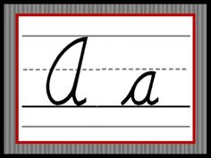 I am completely redoing my classroom with a black and white theme. Here is the alphabet I created to go along with it. ...