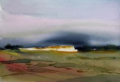 Painting Process, Pictures To Paint, Places Ive Been, Vibrant Colors, Watercolor, Landscape, Nature, Inspiration, Art