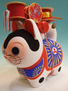 【楽天市場】でんでん犬張子(大):あさくさ江戸屋