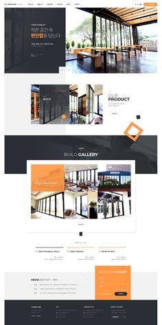 Responsive Web Design Portfolio >> web design on Behance Flat Web Design, Minimal Web Design, Web Design Trends, Web Design Websites, Web Design Quotes, Design Ios, Modern Web Design, Creative Web Design, Website Design Services