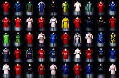 Manchester United kit years