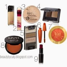 Beauty by Caitlin: My Favorite Drugstore Products