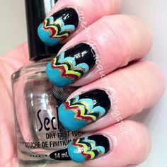 Lace and Lacquers: Nail Art Week, Day #7: The Cloud Manicure