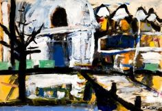 Quai Voltaire, Paris Acrylic on paper from a 1956 French Book 13 by 18 1/2 inches http://stores.ebay.com/GALLERY-ANT