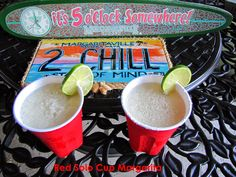 Cocktail Friday ~ Red Solo Cup Margarita or Beergarita! Alcoholic Drinks, Beverages, Cocktails, White Trash Party, Red Solo Cup, Margarita Recipes, Drink Recipes, Pink Summer, Mixed Drinks