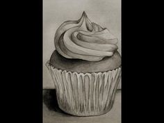 How to drawing in cute cupcake - YouTube Cupcake Youtube, Cute Cupcakes, Drawings, Art, Kunst, Art Background, Sketches, Performing Arts, Drawing