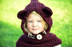 Ravelry: Project Gallery for Baylie Bear Cowl pattern by Heidi May