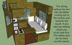 Hunter's 8×8 micro cabin design — tinyhousetalk.com/8x8-tiny-house-design-by-hunter/